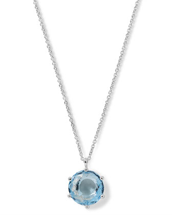 Silver Rock Candy Large Round Necklace