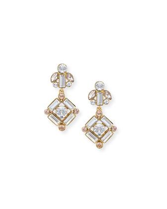 cocktails & conversation drop earrings