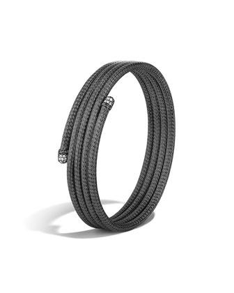 Classic Chain Small Coil Diamond Bracelet, Size M