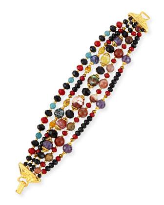 Multi-Strand Beaded Bracelet