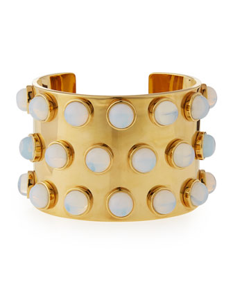 Sands of Time Spotted Cuff Bracelet
