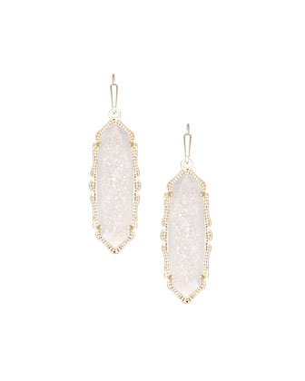 Fran Drusy Drop Earrings