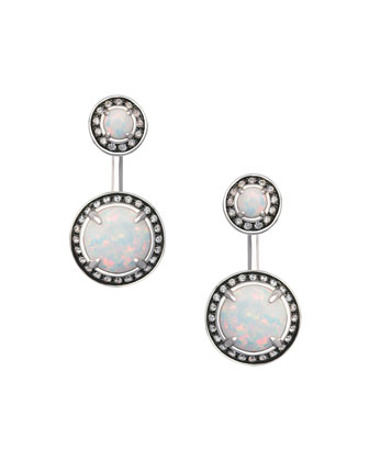 Camilla Simulated Opal Earrings