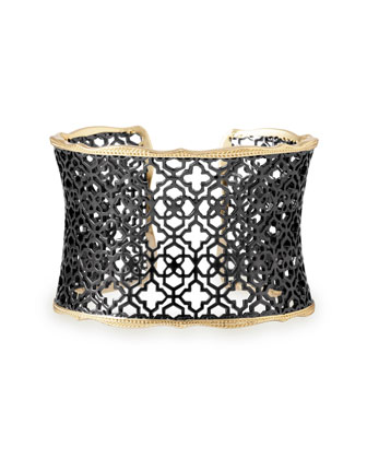 Candice Mixed Metal Cuff Bracelet