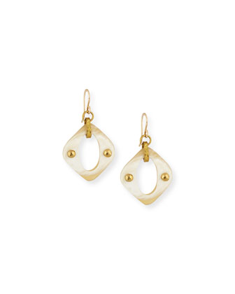 Lengwa Light Horn Drop Earrings
