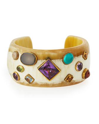 Shinda Cuff with Stones