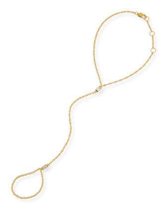 Monty Gold Vermeil Hand Chain