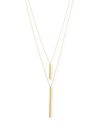 Phoebe Gold Vermeil Double Necklace
