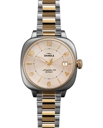 Gomelsky Two-Tone Bracelet Strap Watch, 36mm