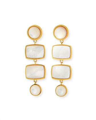 Casablanca Mother-of-Pearl Earrings