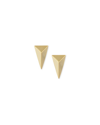 Miss Havisham Pyramid Stud Earrings