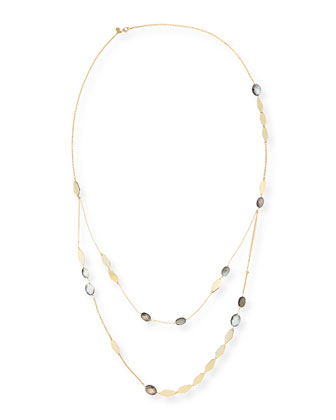 Miss Havisham Sequin Mother-of-Pearl Layered Necklace