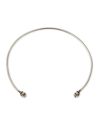 Iman Crystal Collar Necklace