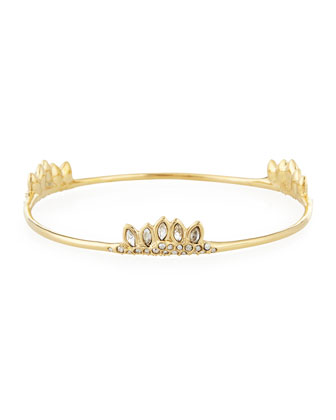Miss Havisham Jagged Cluster Skinny Bangle