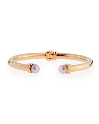 Mini Luciano Pearl Hinge Bracelet