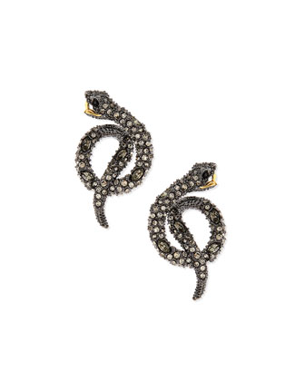 Elements Coiled Serpent Earrings