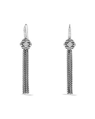 Renaissance Pavé Diamond Tassel Earrings