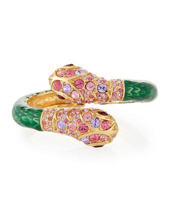 Double-Headed Snake Bracelet