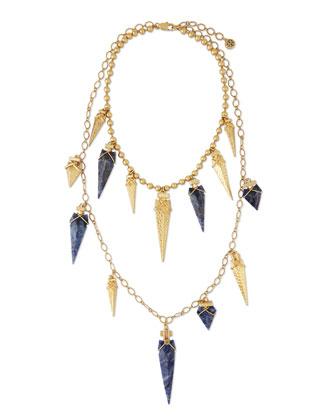 Arrowhead Double-Strand Necklace