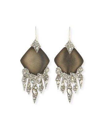 Shattered Crystal Chandelier Earrings