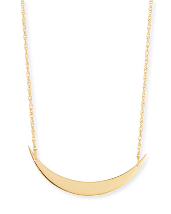 Skylar Horizontal Moon Layered Necklace