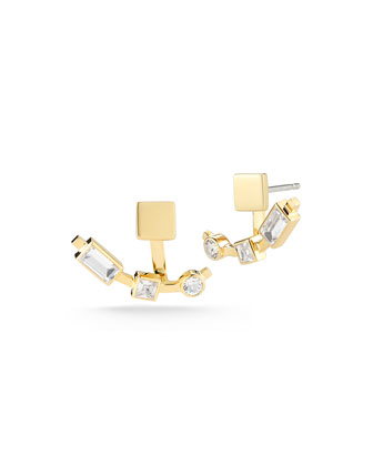 Dia Lewitt Jacket Earrings
