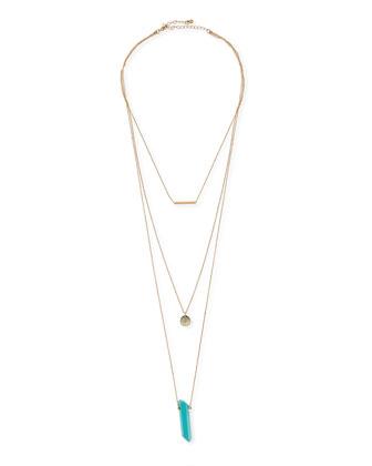 Vittanni Layered Pendant Necklace