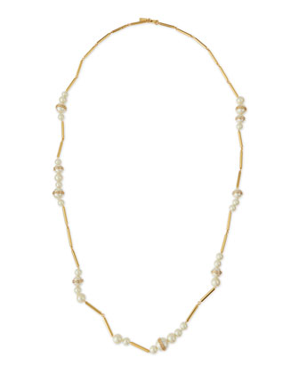 purely pearly long necklace