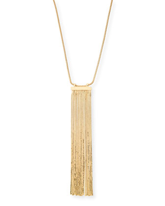 Corinne Fringe Pendant Necklace, 32