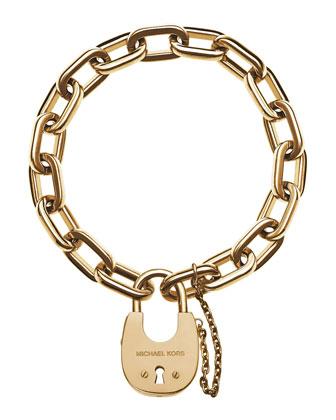 Padlock Link Bracelet