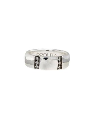 Glamazon Stardust Diamond-Bar Ring