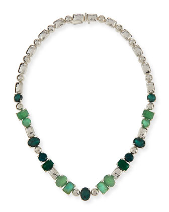 925 Rock Candy Tennis Necklace