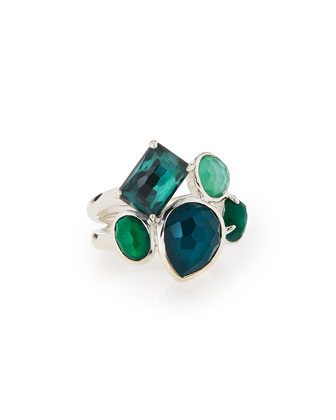 925 Rock Candy Multi-Stone Ring