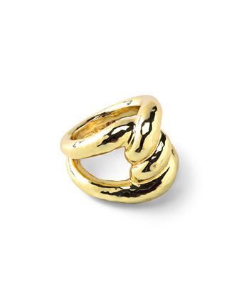 18k Glamazon Intertwined Tube Ring