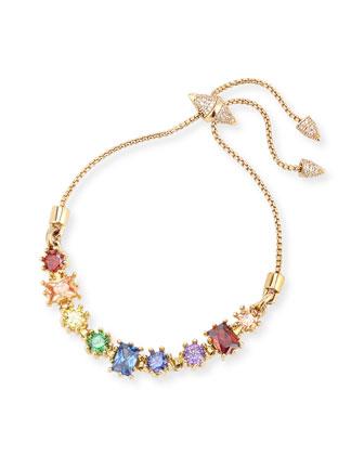 Crystal Toggle Bracelet