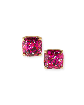 small glitter stud earrings