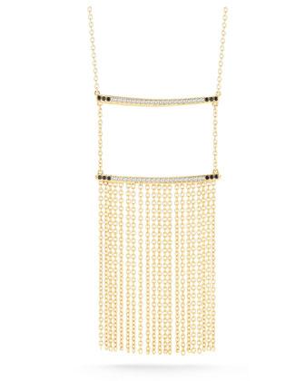 Ollie Vago Chain Fringe Necklace