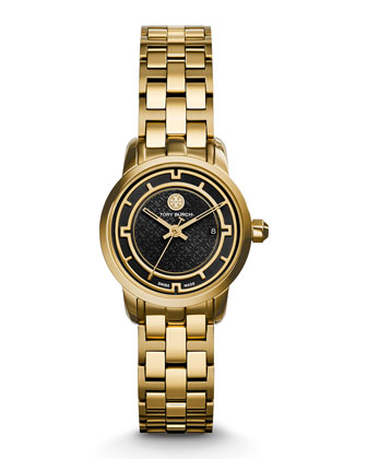 Tory Golden Bracelet Strap Watch, 28mm