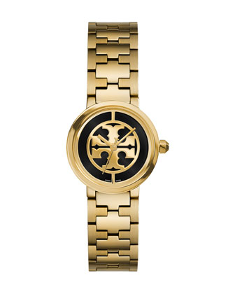 Reva Golden Bracelet Watch, 28mm