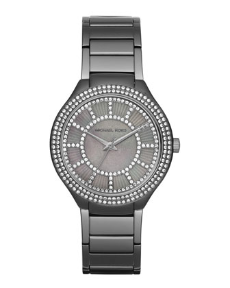 37mm Kerry Gunmetal Glitz Watch