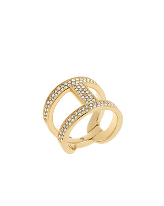 Maritime Link Ring, Golden/Pave