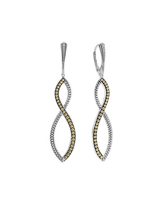 Infinity Double-Twist Earrings