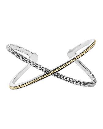 Infinity Slip-On Medium Bangle Bracelet