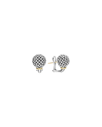 12mm Caviar Ball Earrings