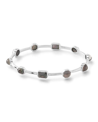 925 Rock Candy Mother-of-Pearl Oval Bangle