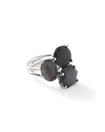 Rock Candy® Black Tie Cluster Ring