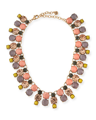 Multi-Stone Collar Necklace