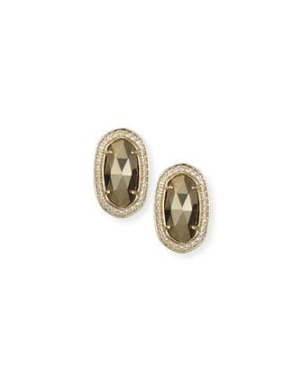 Elaine Faceted Earrings