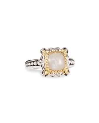 Erato Delicate Cabochon Ring