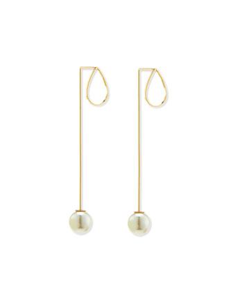 Teardrop Pearlescent Earrings